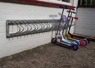 Children S Scooter Storage Racks For Schools