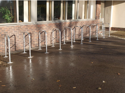 tubular cycle stands